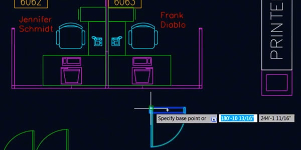 Blocos dinâmicos do AutoCAD