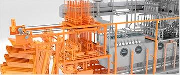 Решения, использующие технологию электронного моделирования изделий для проектирования, промышленного производства и маркетинга.