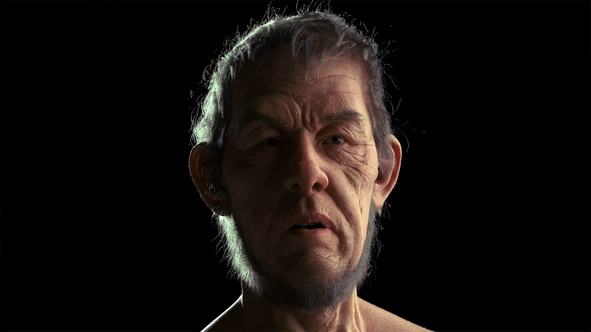Look development for photoreal CG characters