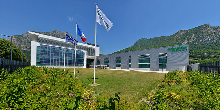 Image of Schneider Electric's Technopole building