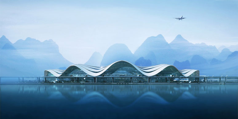 Exterior of Guilin Airport