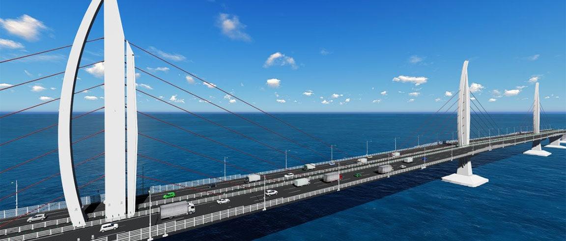 Hong Kong-Zhuhai-Macao Bridge, Janghai direct waterway bridge.