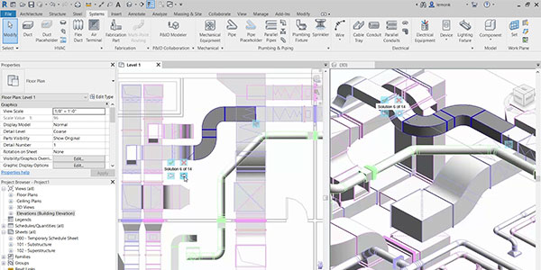 MEP engineering in Revit