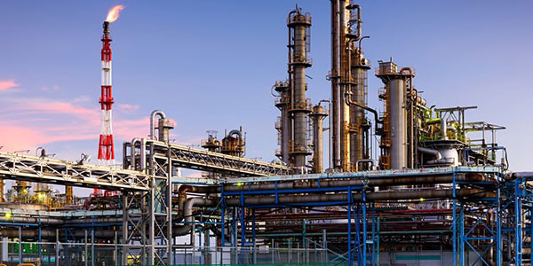 Oil & gas plant design