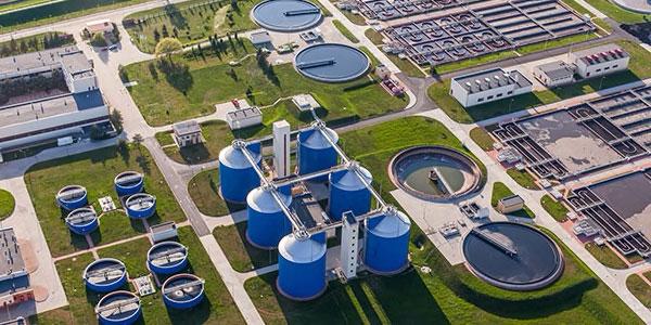 Wastewater plant design