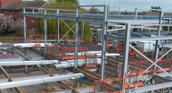 Image of Kettering General Hospital construction