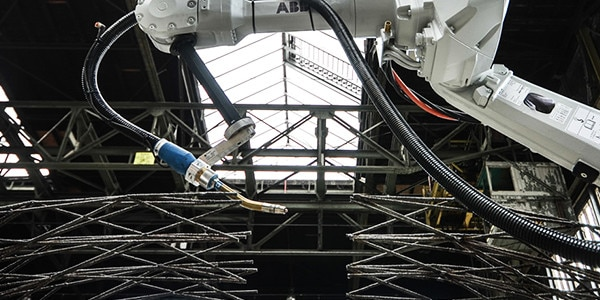 The MX3D project will use multi-axis robots to 3D print a bridge