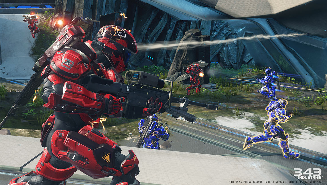 Halo 5: Guardians © 2015. Image courtesy of Microsoft 343 Industries
