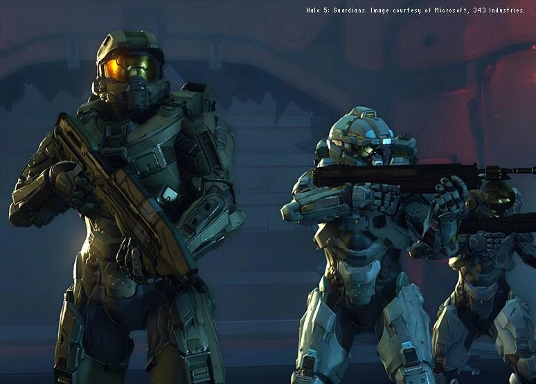 Halo 5 Guardians - Microsoft 343 Industries
