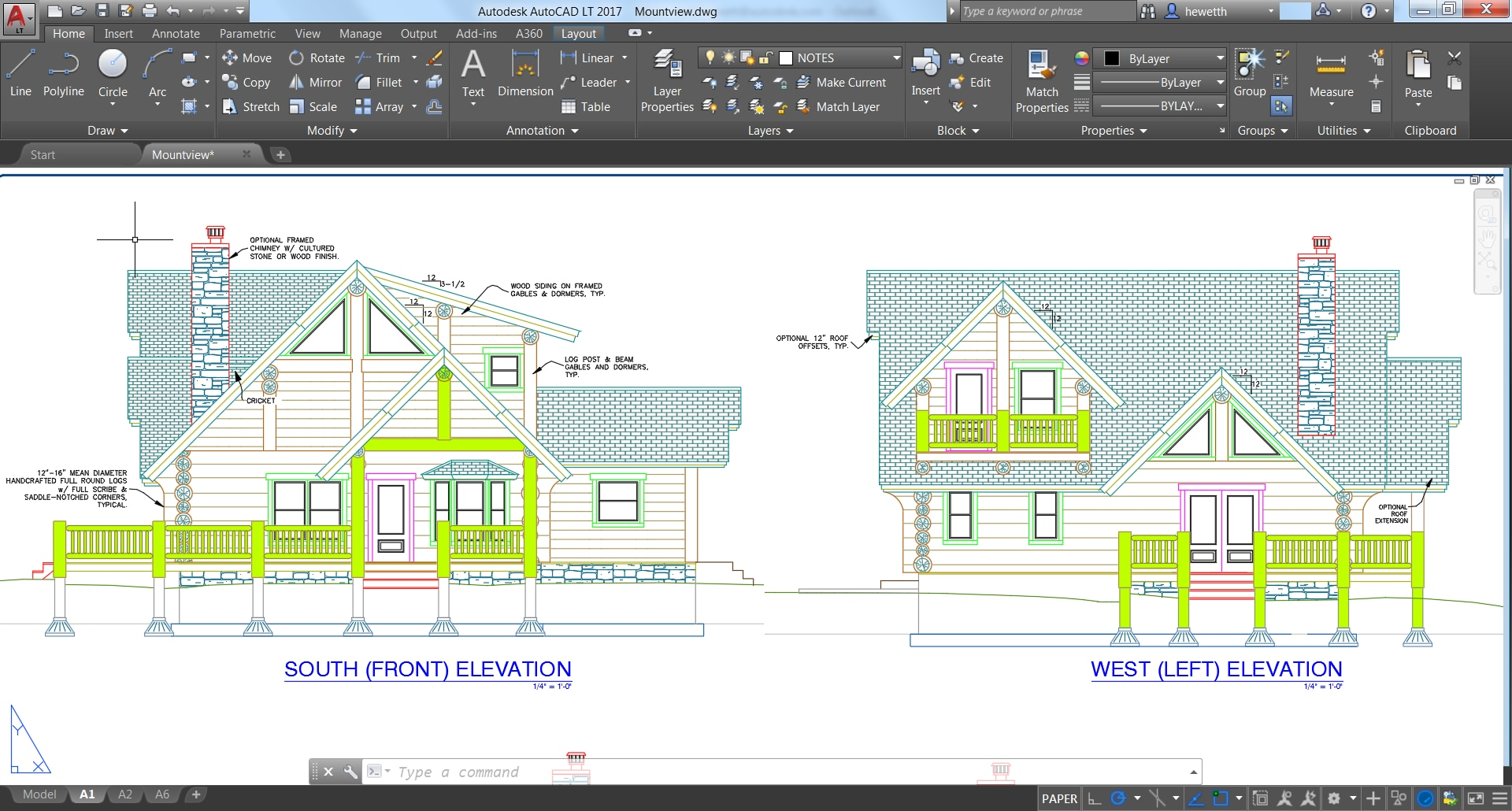 Autocad Cad software for house plans