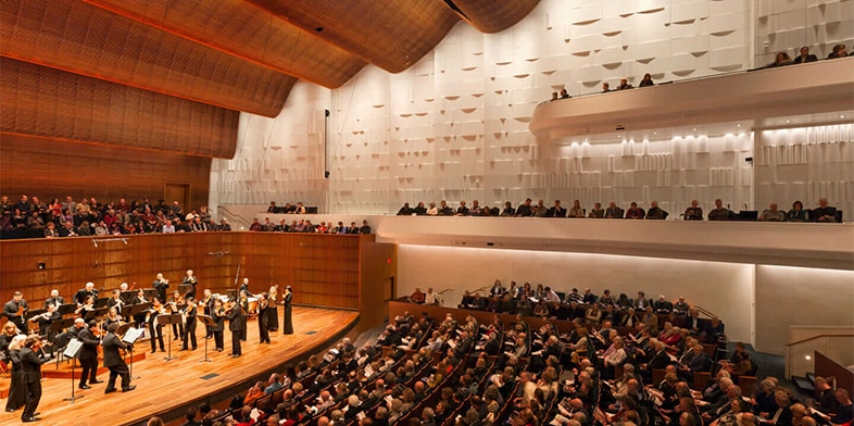 Concert Hall at the Ordway Center for the Performing Arts in Saint Paul, Minnesota