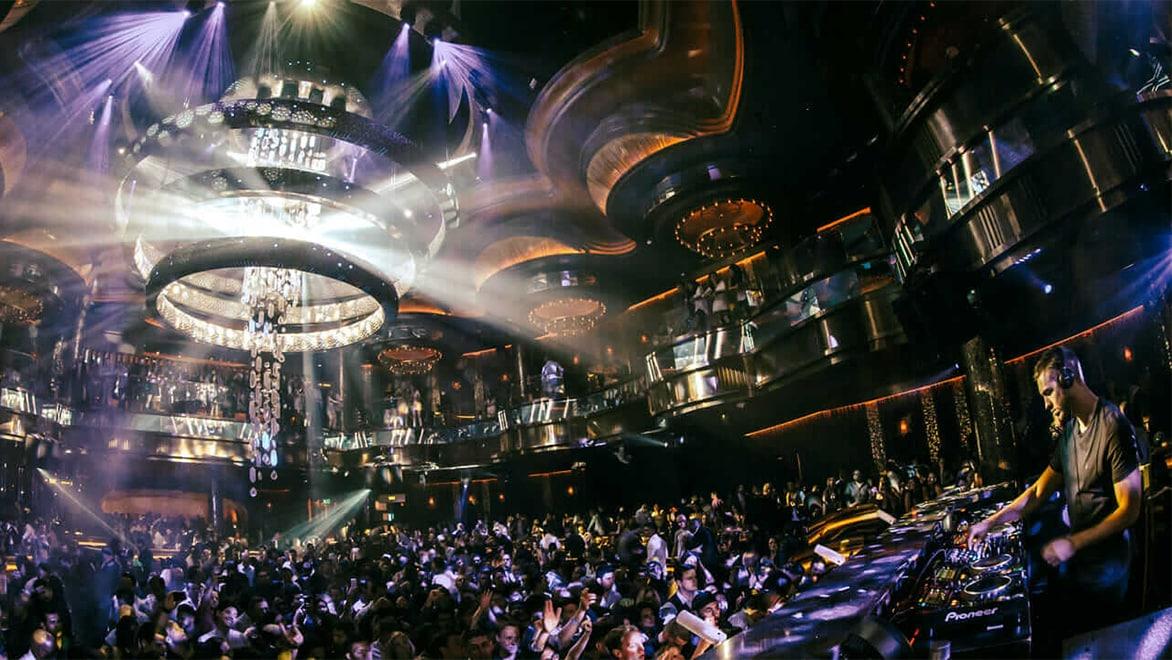 Omnia Nightclub at Caesars Palace