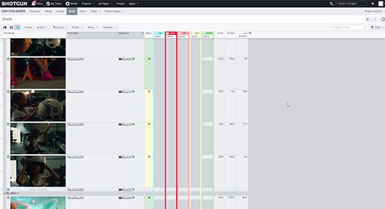 Beginner tutorial series on the production tracking toolset in Shotgun Software