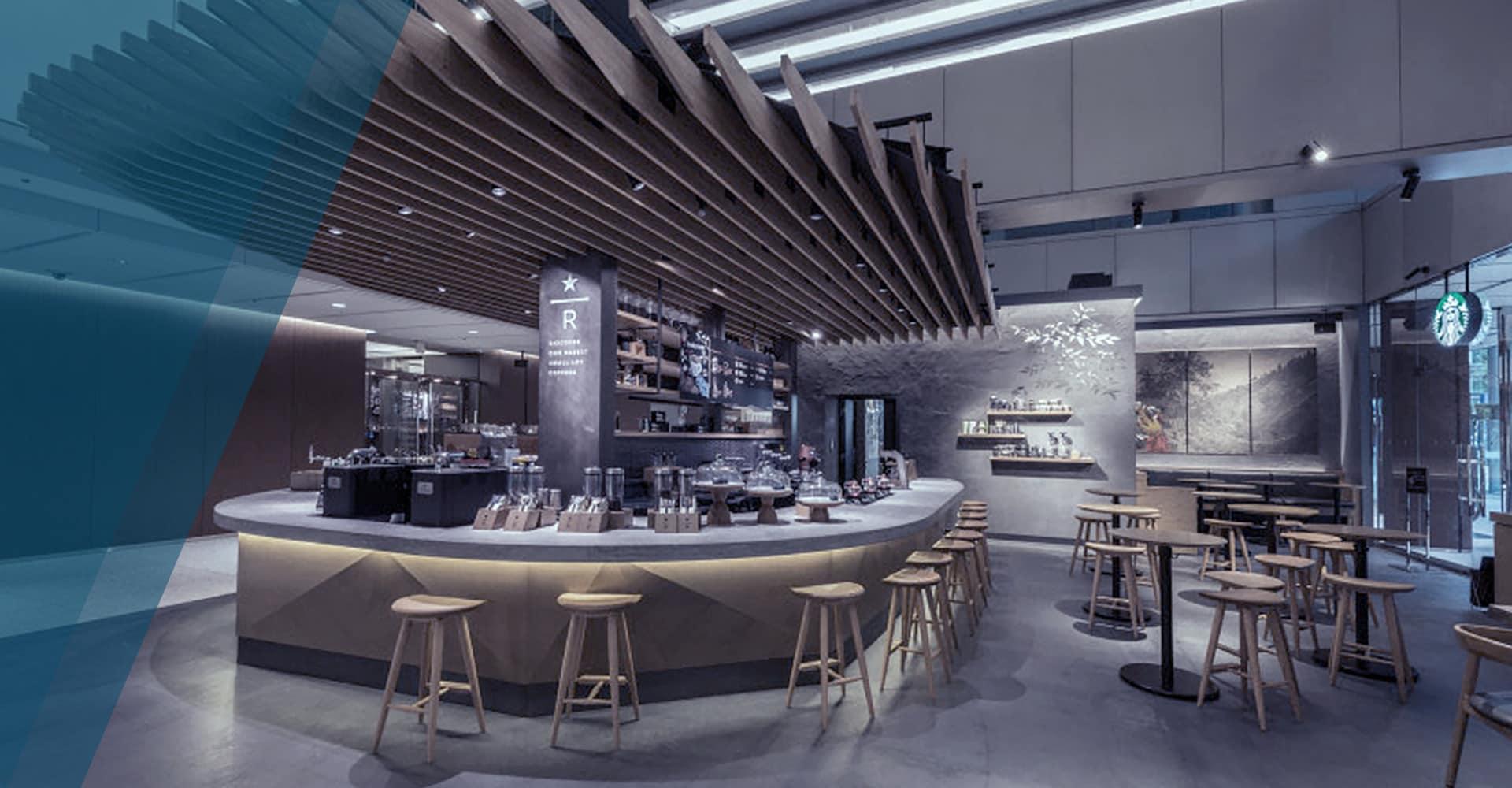 Starbucks Japan uses BIM and VR in design