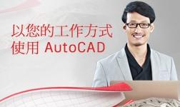 以您的工作方式使用 AutoCAD