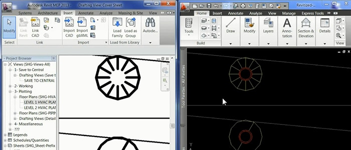 Import CAD Drawings into Revit