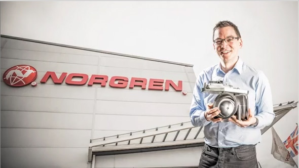 Norgren, Chris Narborough, Design Engineer