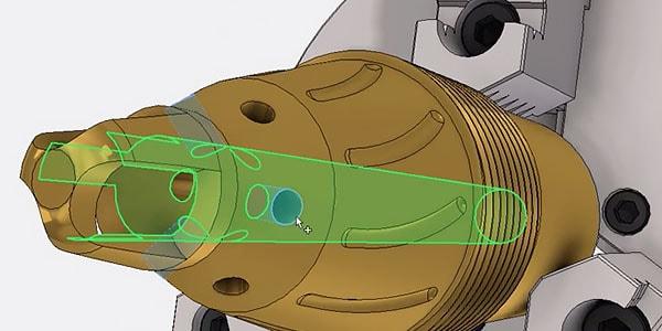 3D design of a reusable component