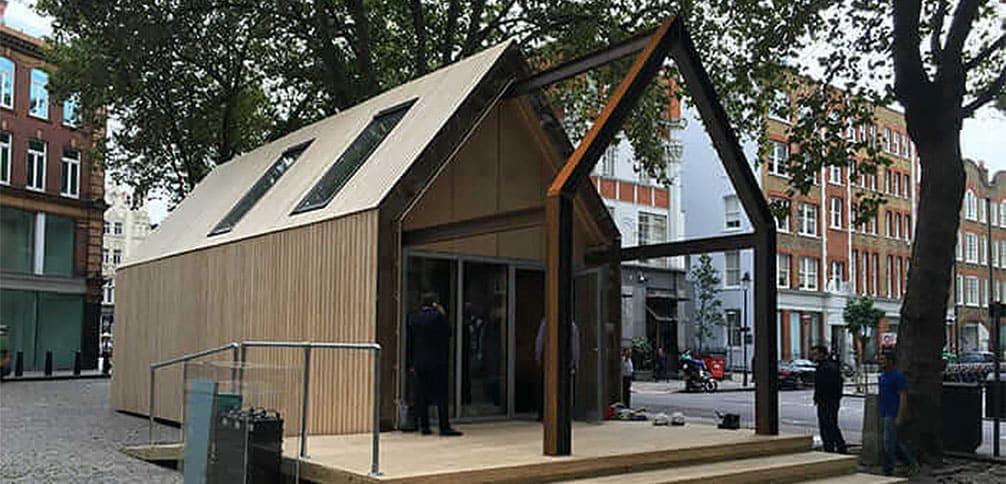 Abitazione londinese realizzata mediante progettazione circolare