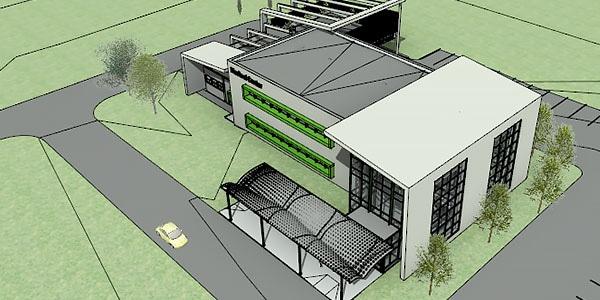 Modello architettonico di un edificio