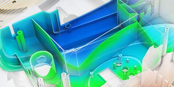 Simulazione di un edificio che utilizza materiali più ecologici
