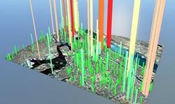 도시의 온실가스 배출량 목표치를 계산하는 방법 학습