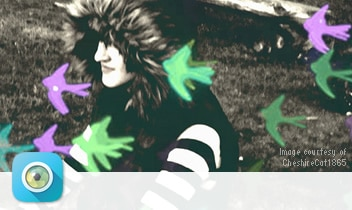 Image created with Pixlr Express