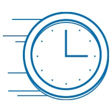 Analog clock face indicating time is passing