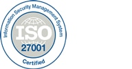 View our ISO 27001 certification