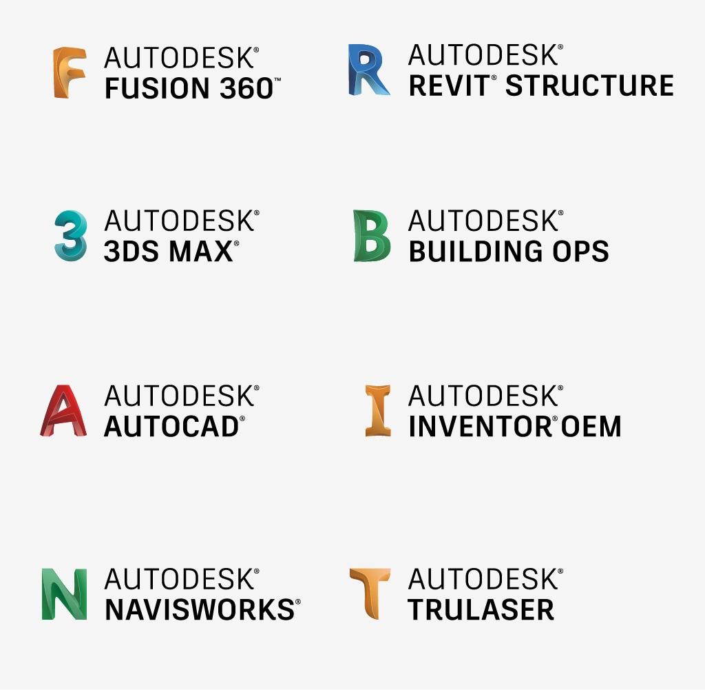 Logo System Autodesk Brand