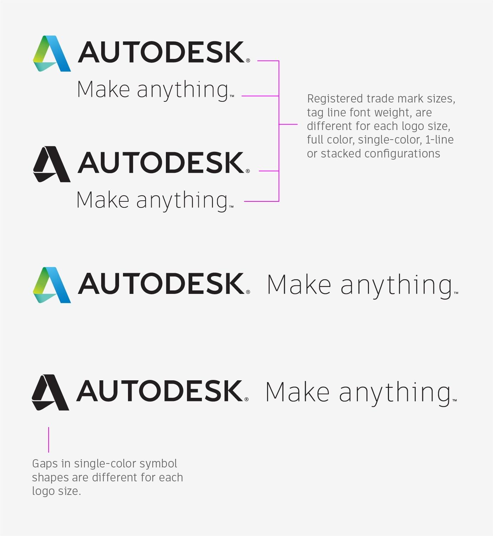 Autodesk tagline autodesk brand lockup sizes biocorpaavc Image collections